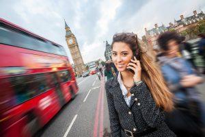 Telefonkonferenzen zwischen England und Deutschland