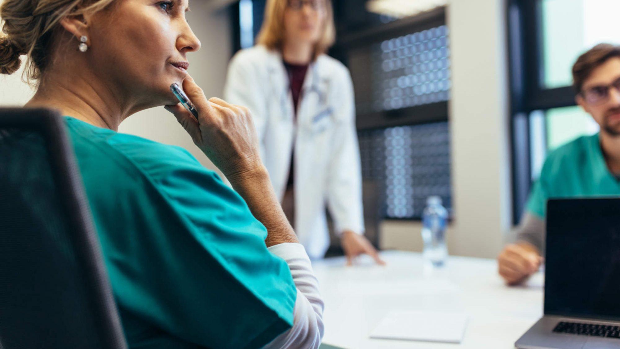 Telefonkonferenzen in Krankenhäusern
